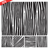 zebra vector pattern