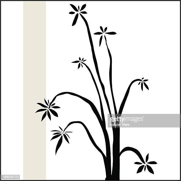 zen flora - osaka prefecture stock illustrations, clip art, cartoons, & icons