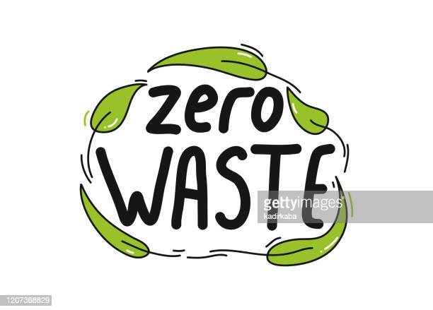 ゼロ廃棄物有機製品アイコンベクターイラストシンボルデザイン要素 - ゼロ点のイラスト素材/クリップアート素材/マンガ素材/アイコン素材