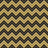 Zigzag hipster seamless sharp broken golden and black linebackground