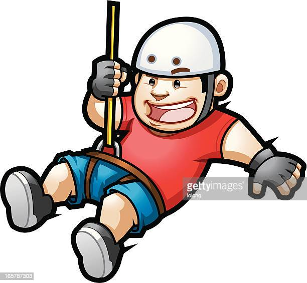 Vector Drawing Lines Zip : Zip line stock illustrations and cartoons getty images
