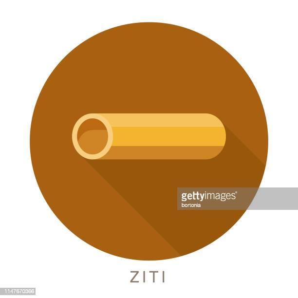 ziti pasta icon - macaroni stock illustrations, clip art, cartoons, & icons