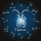 Zodiac capricorn sign
