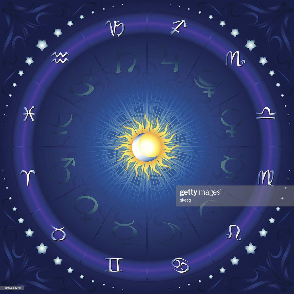 座 Horoscope ベクトルアート | ...