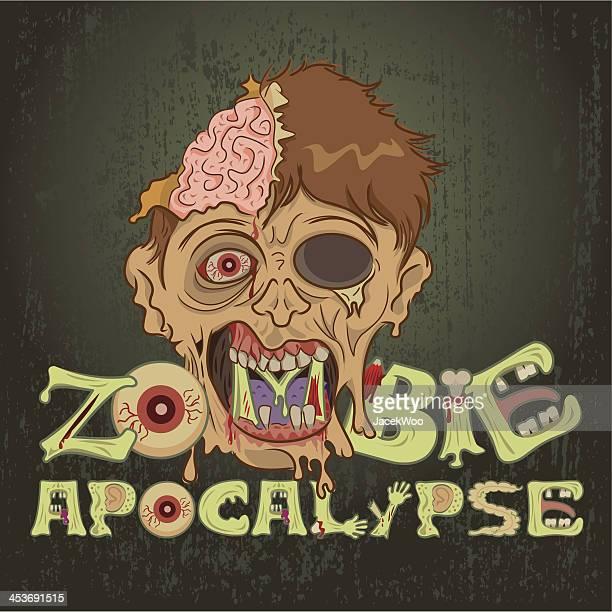 zombie apocalypse - zombie stock illustrations, clip art, cartoons, & icons