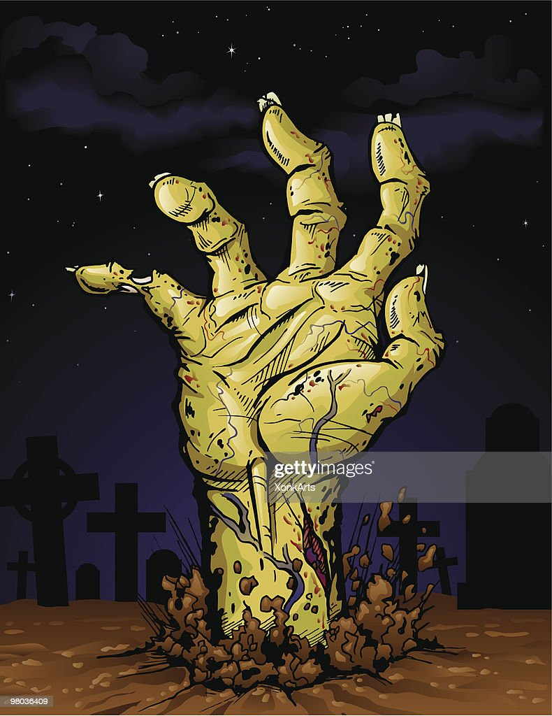 Zombie Hand : stock illustration