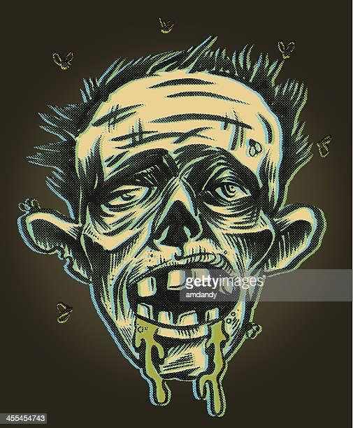 zombie kisses - zombie stock illustrations, clip art, cartoons, & icons