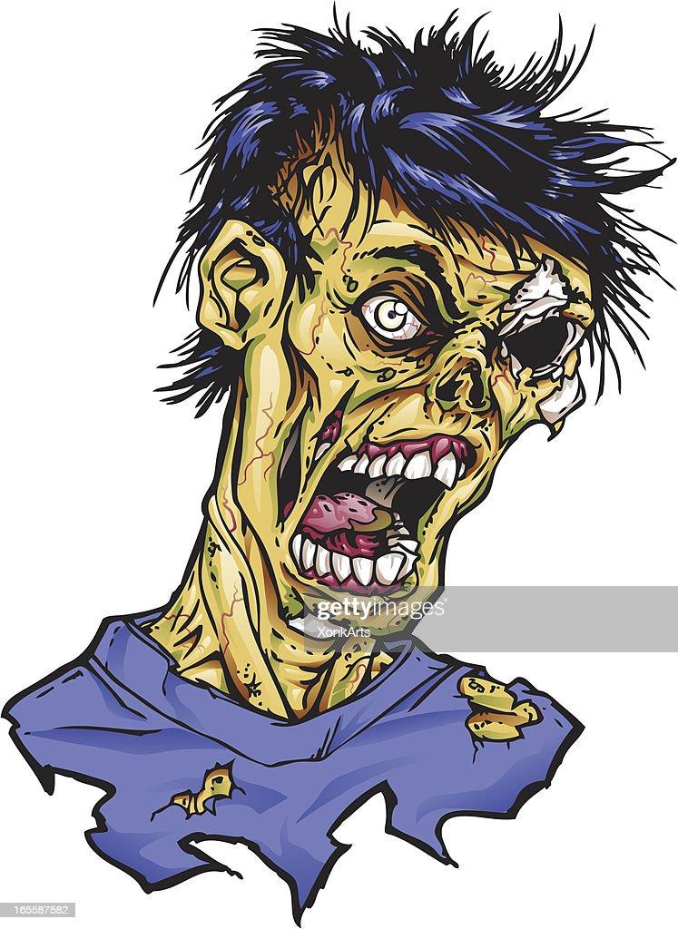 Zombie : stock illustration