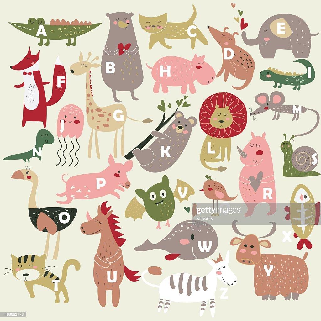 Zoo alphabet