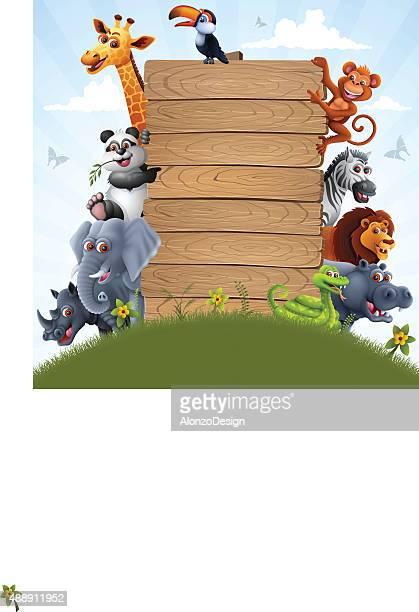 Zoo Animal Characters