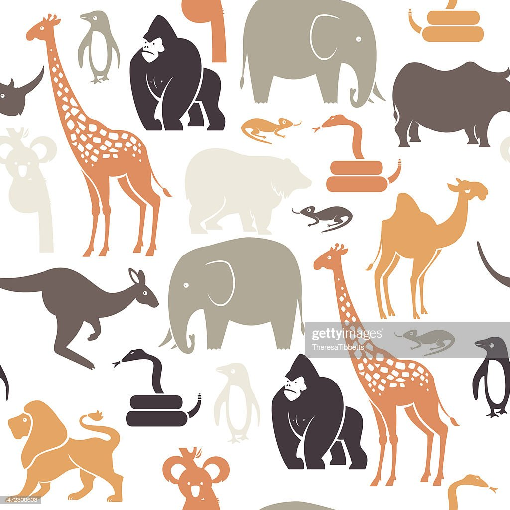 Zoo Animal Pattern