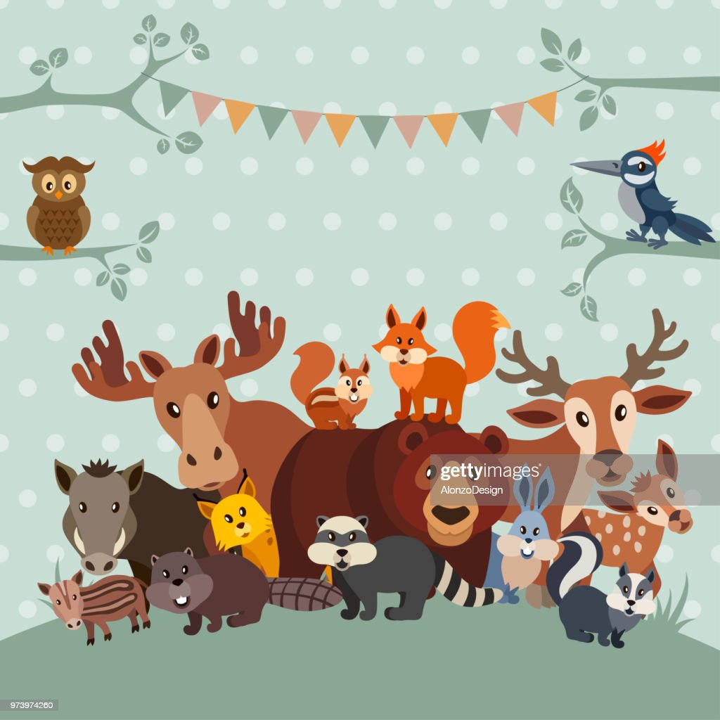 Zoo Party Invitation Vector Art Getty Images
