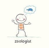 zoologist thinks the tortoise