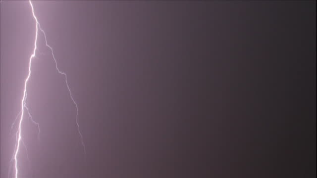 lightning storm - meteorologie stock-videos und b-roll-filmmaterial