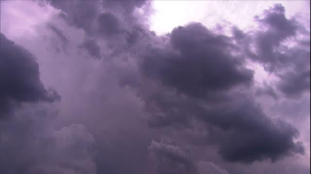 cloudscape - purple sky - non urban scene stock videos & royalty-free footage