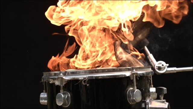 vídeos y material grabado en eventos de stock de slo mo special effects musical instruments - actuación conceptos