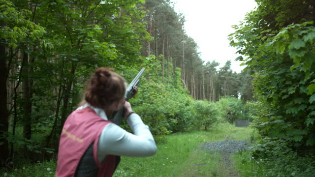 clay pigeon shooting - clay pigeon shooting stock videos and b-roll footage