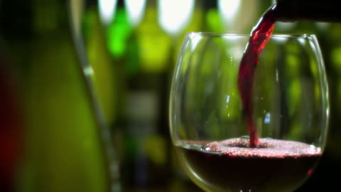 red wine pour with bottles-1080hd - pouring stock videos & royalty-free footage