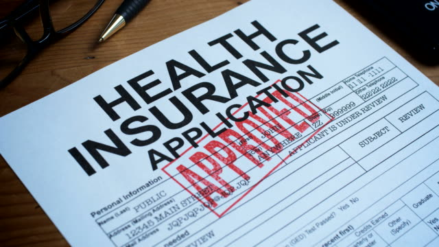 health insurance forms-1080hd - medical insurance stock videos & royalty-free footage