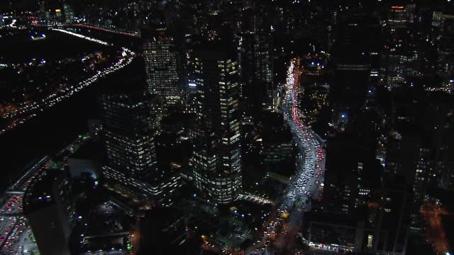 vídeos de stock e filmes b-roll de brazil - são paulo- aerial view - formato de alta definição