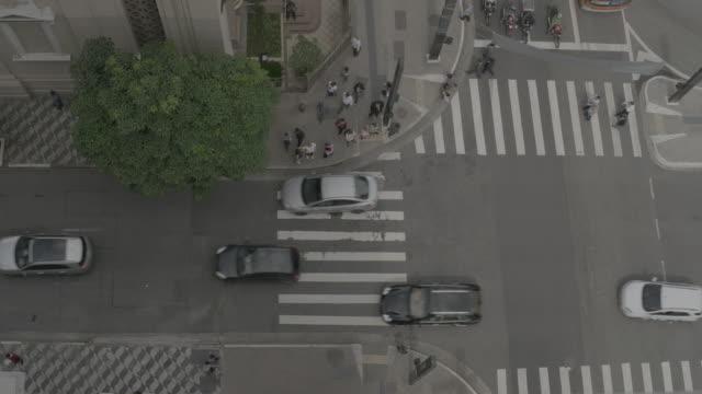 brasil - downtown são paulo - high street stock videos & royalty-free footage
