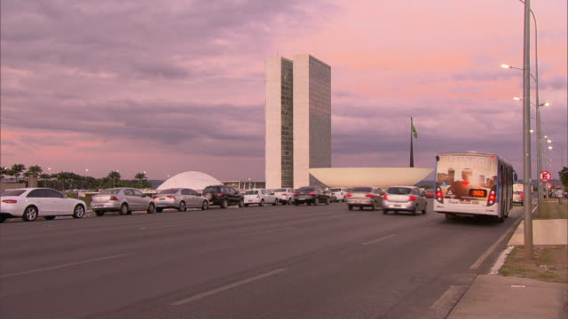 brasília - national congress of brazil - time-lapse - brasilia stock videos and b-roll footage