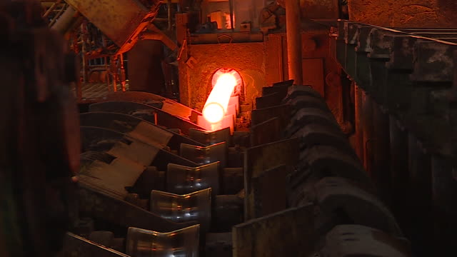 metallurgy - metallindustrie stock-videos und b-roll-filmmaterial