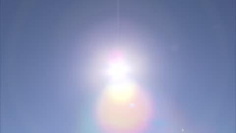 sun and blue sky - luminosity stock videos & royalty-free footage