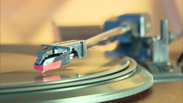 vinyl record player - retro style stock videos & royalty-free footage