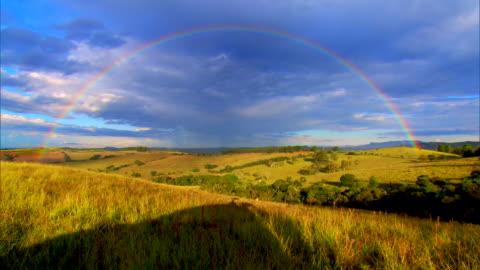 brazil - serra da mantiqueira - rainbow stock videos & royalty-free footage
