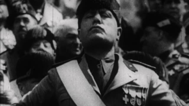 . - benito mussolini stock videos & royalty-free footage