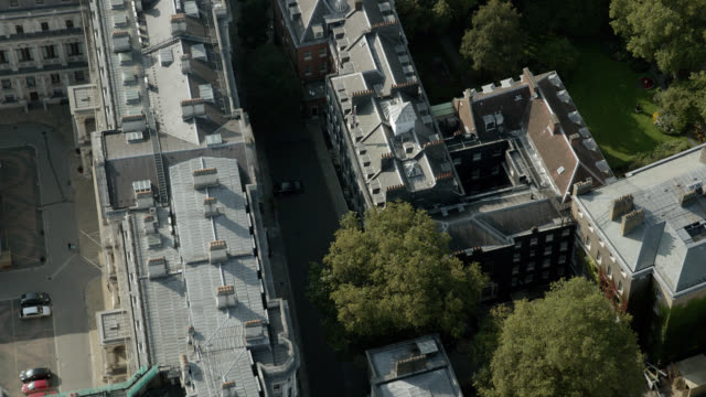 aerial of 10 downing street. - 10 downing street stock videos and b-roll footage