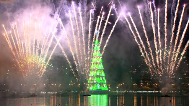 brazil - rio de janeiro - fairy lights stock videos & royalty-free footage