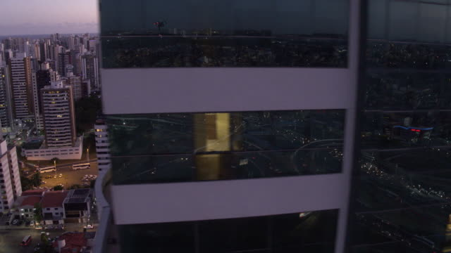 vídeos y material grabado en eventos de stock de brazil - salvador - office block exterior