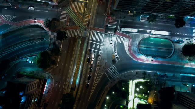 brazil - são paulo time lapse - são paulo stock videos and b-roll footage