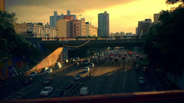 vídeos y material grabado en eventos de stock de brazil - são paulo time lapse - rascacielos