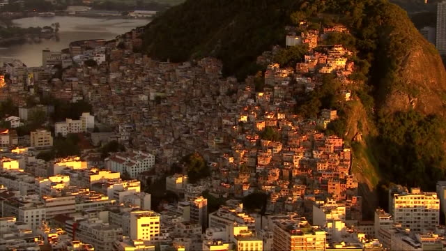 brazil - rio de janeiro - slum stock videos & royalty-free footage