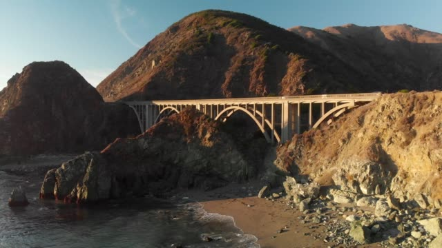 big sur 4k drone - route 001 stock videos & royalty-free footage