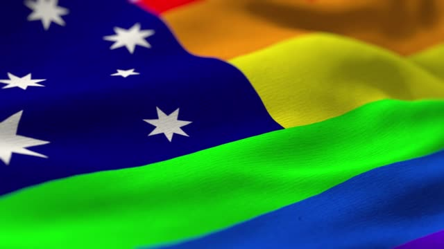 pride flag: australia - 2019 stock videos and b-roll footage