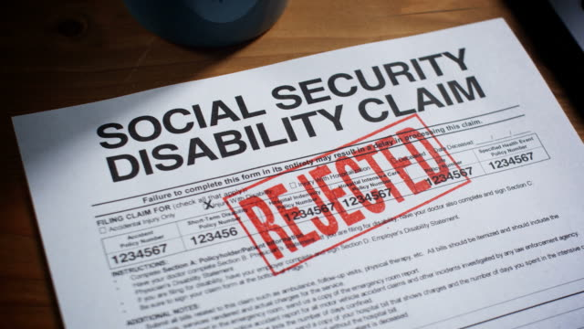 social security claim forms stamped-1080hd - social security stock videos & royalty-free footage