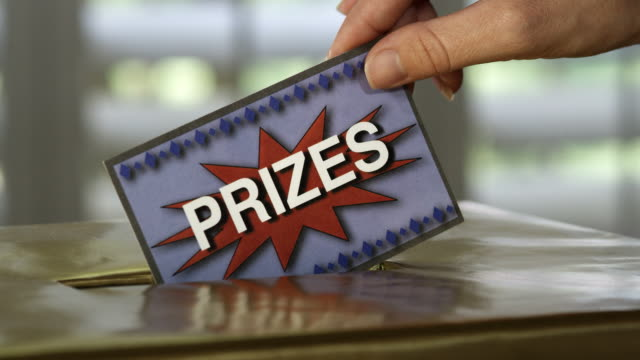 prize sweepstakes-hd - ticket stock videos & royalty-free footage