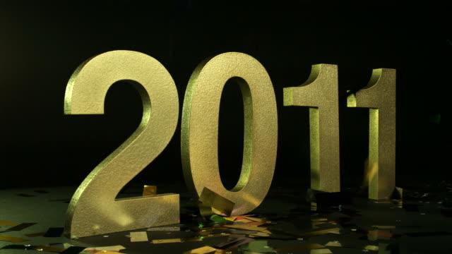 HAPPY NEW YEAR 2011-GOLD-HD