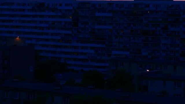 vidéos et rushes de jour à la nuit en haute définition. - morphing