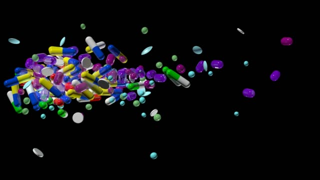 vídeos de stock e filmes b-roll de pills - vitamina a