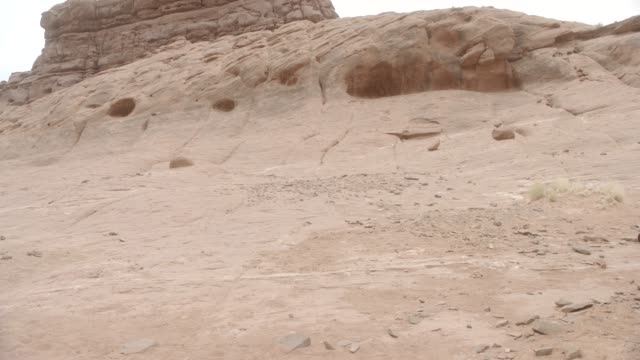 medium angle of rocky area in desert. could be butte or mesa. - mesa stock videos and b-roll footage