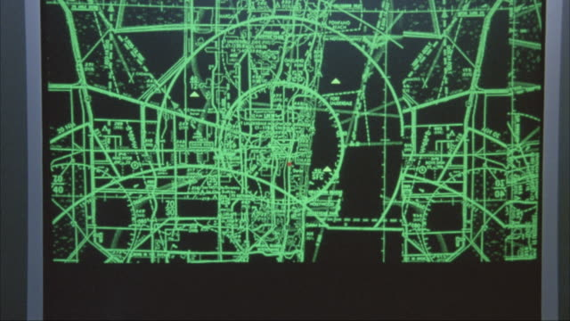 "close angle of monitor with computer mouse pointer. image pops onto screen, could be surveillance monitor. image tracks small red dot and reads ""locked - opa locka airport."" insert. - mouse pointer stock videos & royalty-free footage"