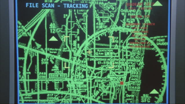 "close angle of monitor with  computer mouse pointer. image pops onto screen, could be surveillance monitor. image tracks small red dot and reads ""locked - opa locka airport."" blue image fills monitor. insert. - mouse pointer stock videos & royalty-free footage"