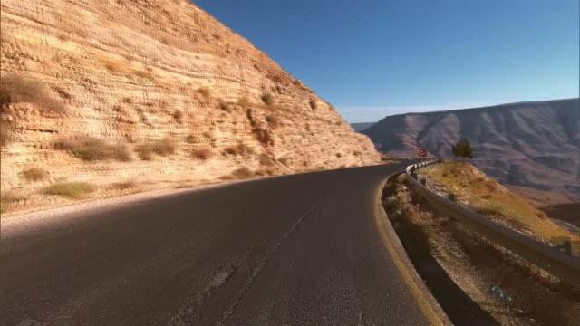 petra - jordan - 以前の点の映像素材/bロール