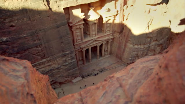 petra - jordan - ancient stock videos & royalty-free footage