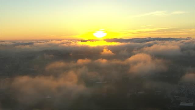 cloudscape - sun点の映像素材/bロール